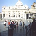 pellegrinaggio Roma Assisi  -Piazza san Pietro